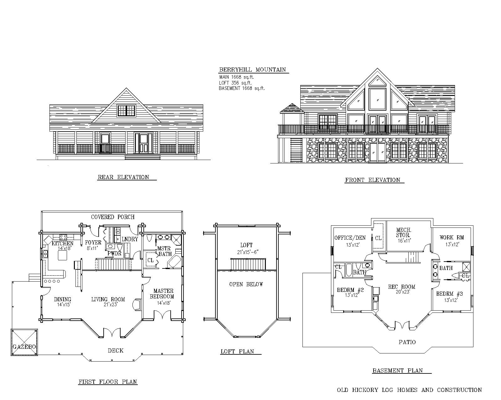 Awesome mountain home floor plans pictures architecture for Mountain house floor plans