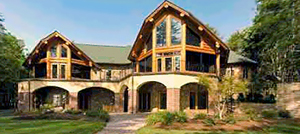 Manufactured  Homes on Custom Luxury Log Home   Timber Frame Builder In Boone  Banner Elk