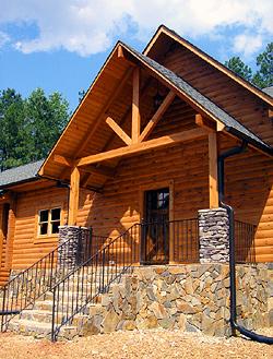 North Carolinas Custom Timber Frame Log Home Builder