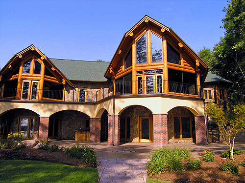 North Carolina 39 S Custom Log Home Builder