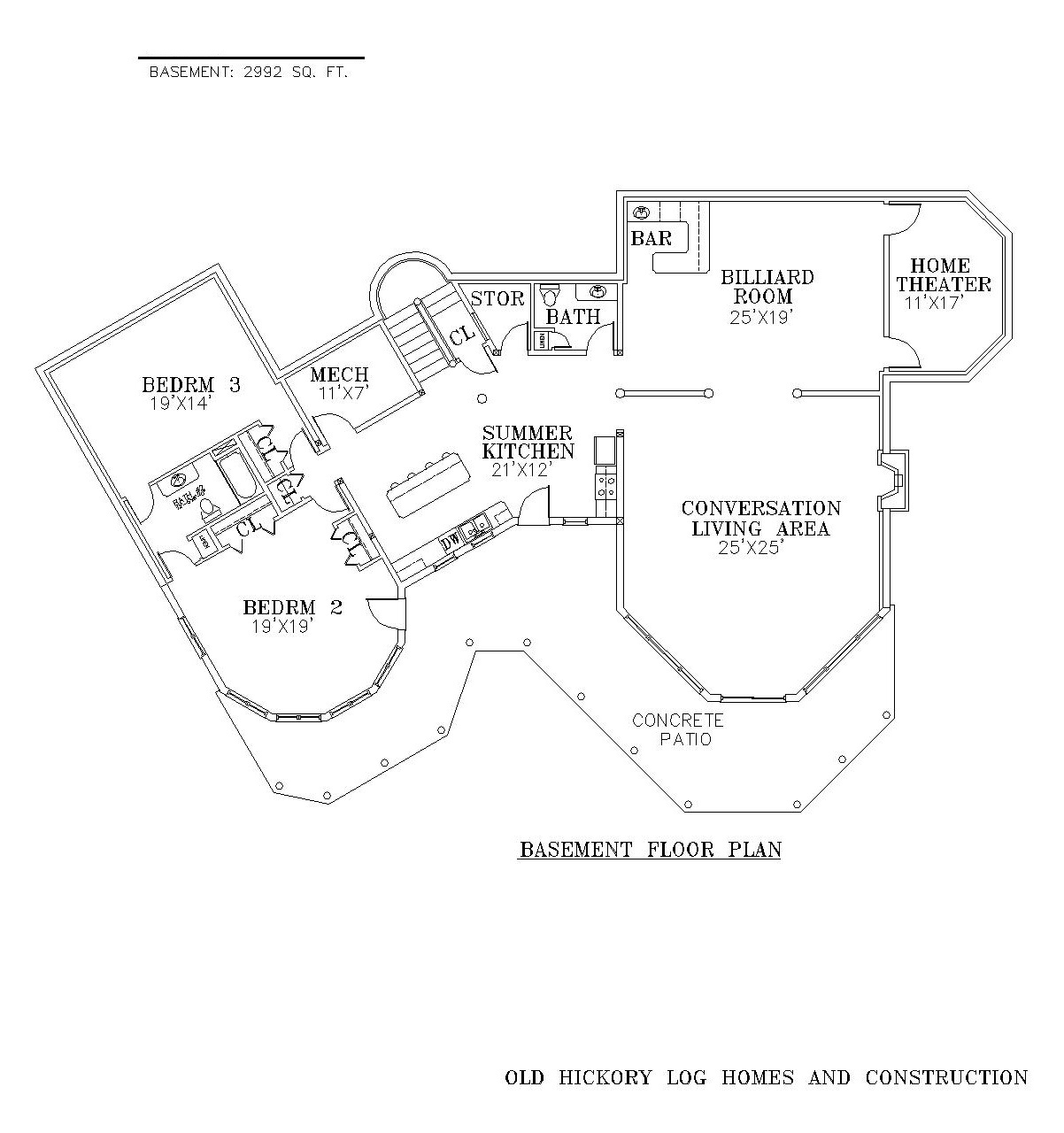 log home floor plans with basement timber lodge basement 27216