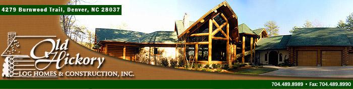 North Carolina's Custom Timber Frame Log Home Builder